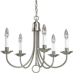 Progress Lighting P4008-09 5-Lt. chandelier