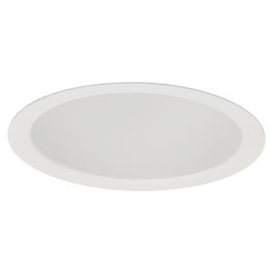 "Lightolier 1001WH Reflector Trim, 5"", White, Uniframe"