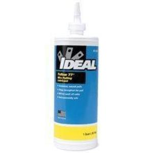 Ideal 31-358 Pulling Lube, 1 Quart Bottle, Wax-Based, Yellow 77