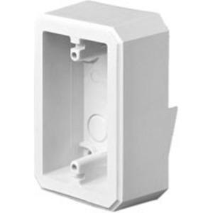 "Arlington FS8151 Weatherproof FS Box, 5/8"" Lap Siding, 1-Gang, UV Rated Plastic"