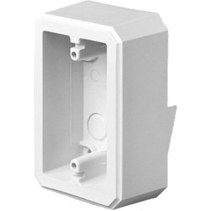 "Arlington FS8141 Weatherproof FS Box, 1/2"" Lap Siding, 1-Gang, UV Rated Plastic"