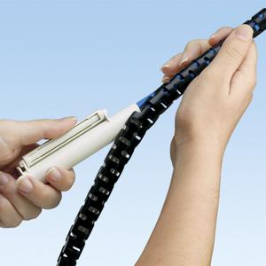"""Panduit PW150F-L20 1 .50"""" (38.1mm) Panwrap, Black, 50 ft. ("""