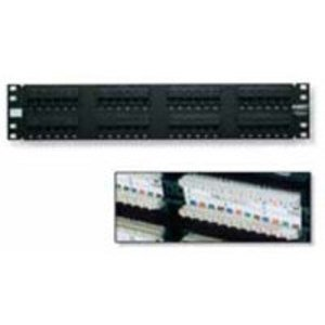 Tyco Electronics 406330-1 Patch Panel, Cat 5e, 24 Port, RJ45, 110 Block