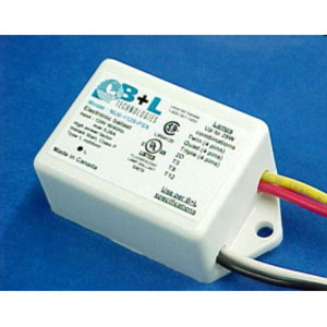 Candela NU62128PSX Electronic Ballast, Compact Fluorescent, 1-Lamp, 28W, 277V
