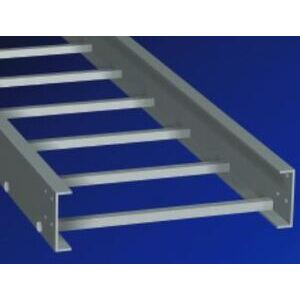 "Enduro ELL4-06-09-20 Fiberglass Ladder Type Cable Tray, 4"" High, 6"" Wide, 20' Length"