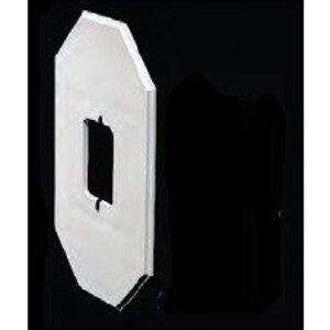 "Arlington 8081FDBLC Siding Box Kit, Depth: 1.25"", 1-Gang, UV Rated Plastic"