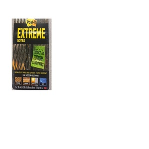 """3M EXTRM33-3TRYMX Extreme Post-It® Notes 3"""" x 3"""""""
