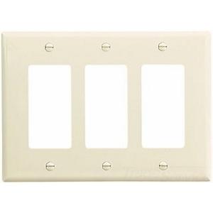 Eaton Arrow Hart PJ263LA CWD PJ263LA-SPL1 Wallplate 3G Decor