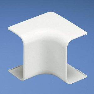 Panduit ICF5IW-E Inside Corner Fitting, LD5 Raceway, Non-Metallic, Off White