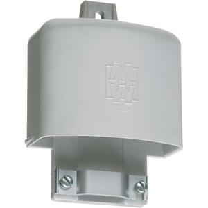 "Arlington EH201 PVC Entrance Hood, Depth: 2-1/2"", Cable Size: (3) 1/0 to (3) 4/0 AWG"