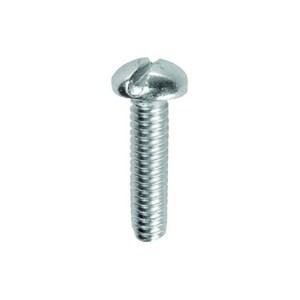 Dottie PMS142 1/4 X 2 Round Head Machine Screws Stainless Steel