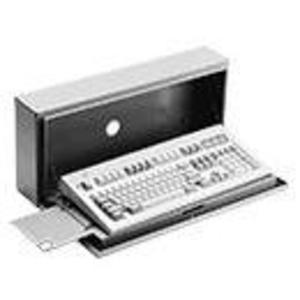 "Hoffman CKBC24 Concept Keyboard Box, 10"" x 23"" x 5"", For Use to Mount Keyboard"