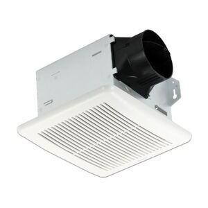 Delta Products ITG80H 80 CFM Single Speed Exhaust Fan w/Adjustable Humidity Sensor