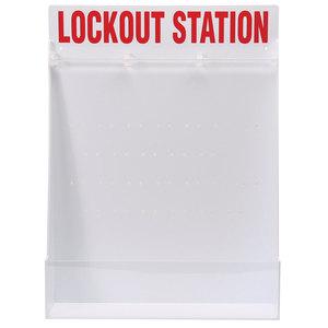 Brady 50994 Large Lockout Station, English Open Style Station, Empty