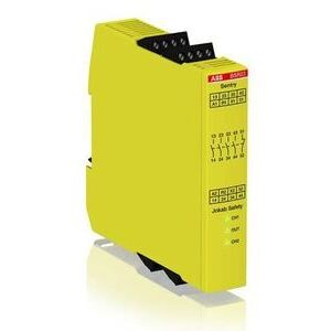 ABB 2TLA010041R0600 Safety/Expansion Relay, Sentry BSR23, 24VDC, 4NO, 1NC, No Time Delay