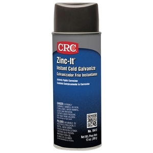 CRC 18412 Zinc-It Galvanize Touch-Up Coating - 13oz Aerosol Can
