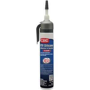 CRC 14055 RTV Silicone Sealant, 7.25 Fluid Ounce Tube, Clear