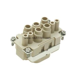 Harting 09380082701 Inserts, Axial Screw Termination / Cage-Clamp Termination, Female