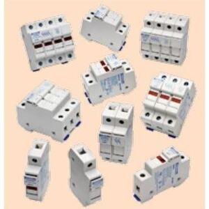 Mersen USM3 Fuse Holder, Class M, 3P, 30A, 800VAC, 1000VDC, DIN Rail Mount
