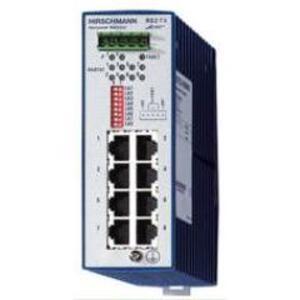 Hirschmann 943-686-003 Ethernet Rail Switch, Entry Level, Industrial, 8 x 10/100Base-TX