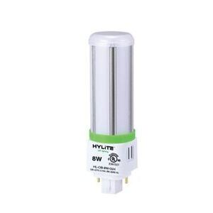Hylite LED HL-OB-8W-G24-40K 8 Watt LED Omni-Bulb, 4000K, 898 Lumen, 120-277V