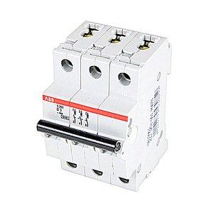 ABB S203-D3 Miniature Circuit Breaker, 3P, 3A