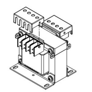 Hammond Power Solutions SPFG1 Transformer, Finger Guards, AR, QR, PR, KHR, SR Series, 50 - 350KVA