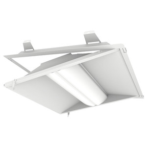 DECO Lighting GO-LED243540UNVWLC LED Troffer, Latch & Close, 2x4, 35W, 4150L, 4000K, 120-277V