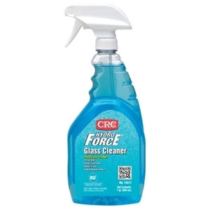 CRC 14411 HydroForce Glass Cleaner - 32oz Spray Bottle