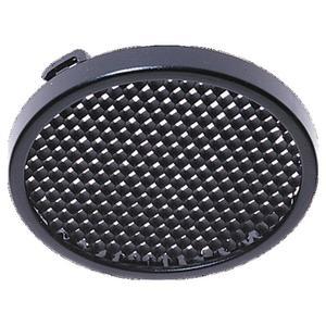 "Sea Gull 9452-12 Twist-On Honey Comb Disk Light Trim, 2-1/2"", Black"