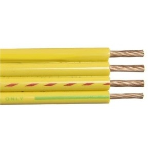 Multiple SUB122WGFMC-CUT 4 AWG THHN Stranded Copper, Green/Yellow, Cut to Length