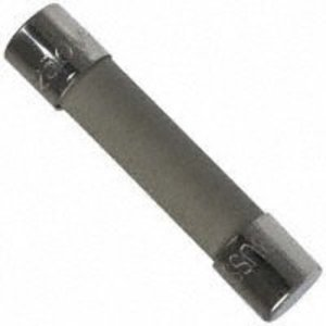 "Eaton/Bussmann Series MDA-5-R Fuse, 5 Amp Time-Delay Ceramic, 1/4"" x 1-1/4"", 250V, RoHS"