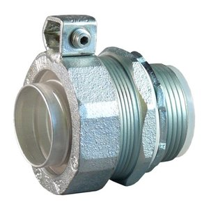 "Appleton STB-300L Liquidtight Grounding Connector, 3"", Insulated, Steel/Zinc"