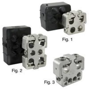 Ilsco PTA26-500-4/0 Multi-Tap Connector, 2 Port, 250 MCM - 10 AWG