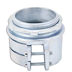 "Appleton 7487 Flex Connector, 2-1/2"", 2-Screw, Malleable"