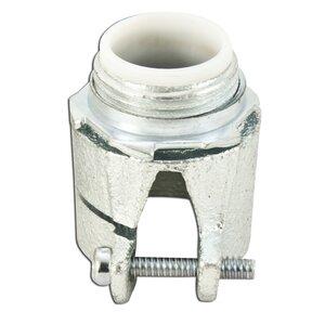 "Appleton 7482VI AC/Flex Connector, 3/4"", Straight, Insulated, Malleable Iron"