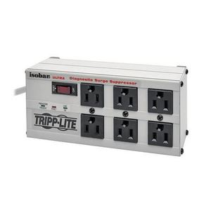 Tripp Lite ISOBAR6-ULTRA Isobar 4-Outlet Surge Protector, 6-Outlet, 6' Cord, Right Angle Plug