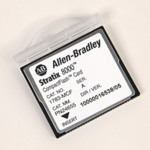 Allen-Bradley 1783-MCF Memory Card, Stratix 8000 CompactFlash, Replacement