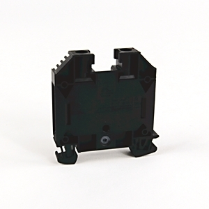 Allen-Bradley 1492-J16-BL Terminal Block, 85A, 600V AC/DC, Black, 16mm, Feed Through