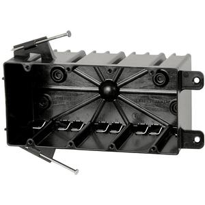 Allied Moulded P-764 Four Gang Electrical Box