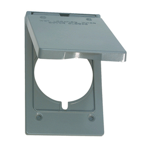 Appleton WVP161 Weatherproof Cover, 1-Gang, Vertical Mount, Die Cast