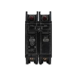 GE THQC22020WL Breaker, 20A, 2P, 240V, Q-Line Series, 10 kAIC, Lug In/Lug Out