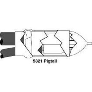 3M 5323 Motor Lead Splice Kit, 1/0 - 250 Feeder Range, 2 - 250 Motor Cable Range