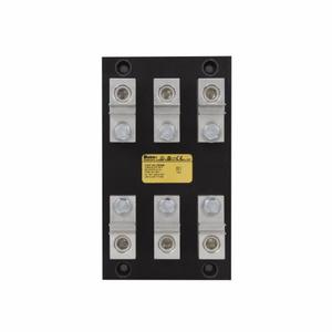 Eaton/Bussmann Series 1B0089 Fuse Block, Class T, 3P, 101-200A, 600V, Box Lug Terminal w/Clip