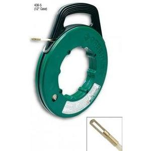 Greenlee FTN536-50 Fish Tape with Winder Case, 50'