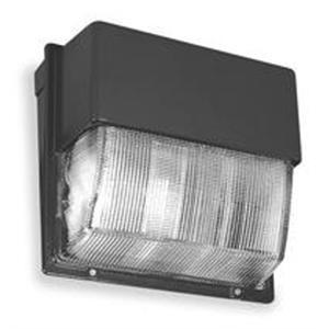 Lithonia Lighting TWH400MTBSCWALPI Wallpack, PS Metal Halide, 400W, 120-277V, Dark Bronze