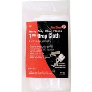 Red Devil 3961 9X12 MED DROP CLOTH