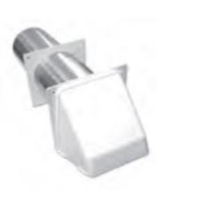 """Lambro 222W Plastic Preferred Hood Vent, 3"""", White"""