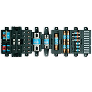 Eaton/Bussmann Series TPSFH-N60 Spare Fuse Holder, 4-Position, For 35-60A Class R Fuses