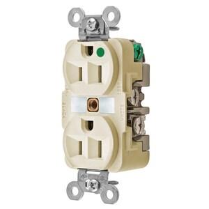 Hubbell-Kellems HBL8200I 15A, 125V, 2 Pole, 3 Wire Grounding
